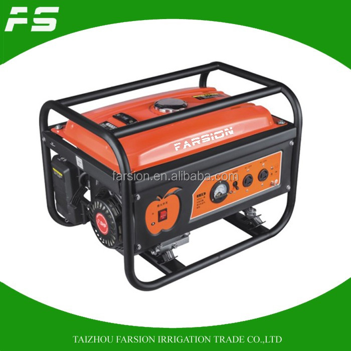 Top Selling 220V 50HZ 240V 60HZ 3KW Petrol Gasoline Generator 3000W For Sale