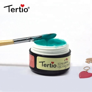 Hot sale Tertio beautiful 252 colors gel nail polish 8ml exquisite nail polish painting gel