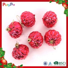 Partypro 2015 New Product Christams Handing Ornament Colorful Balls Large Red Christmas Balls