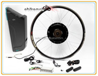 high speed 48v 750w ebike kit with newest LCD with battery