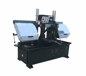 GZ4230 automatic feeding metal band saw aluminium tube cutting machine