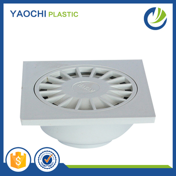 All Sizes Available GB Standard Plastic Pvc Floor Drain For Drainage  Fittings
