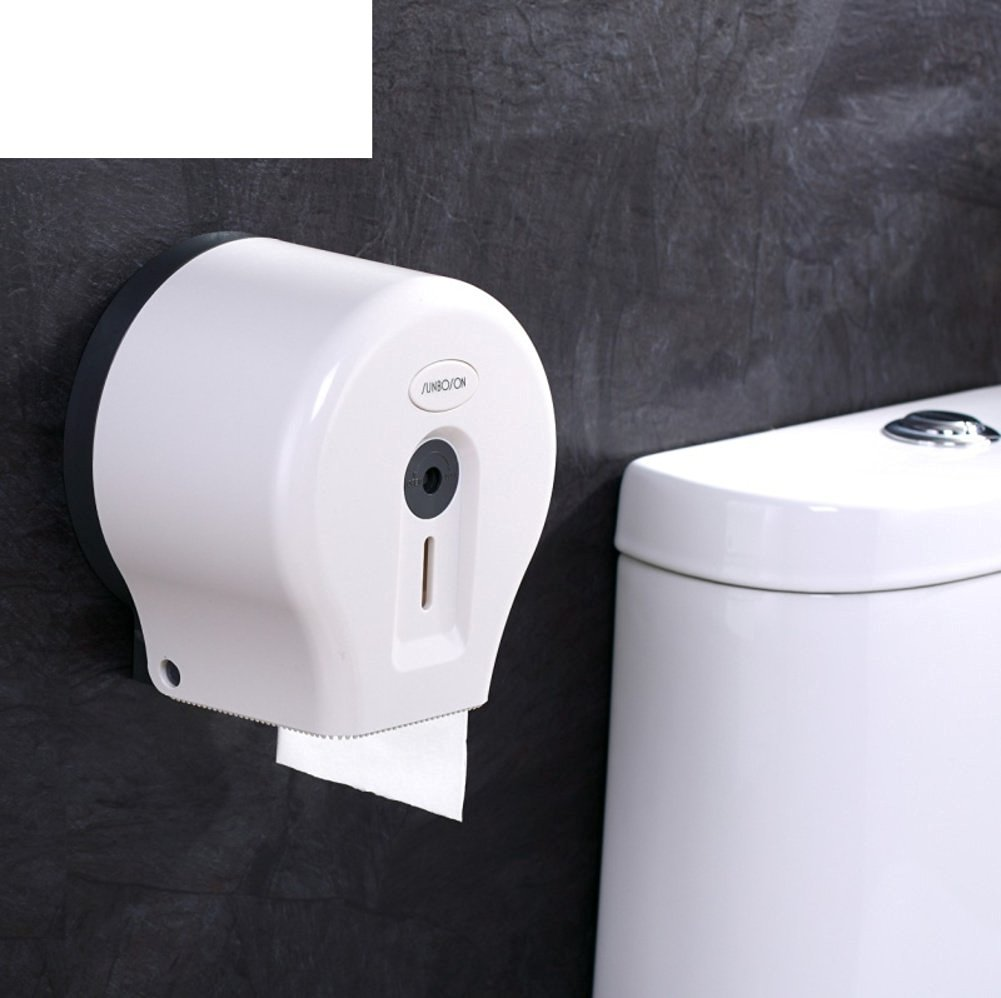 Bathroom waterproof toilet paper holder/ plastic toilet paper box/Hygienic tray/Tissues/Tray-A