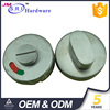304 stainless steel metal toilet door indicator lock