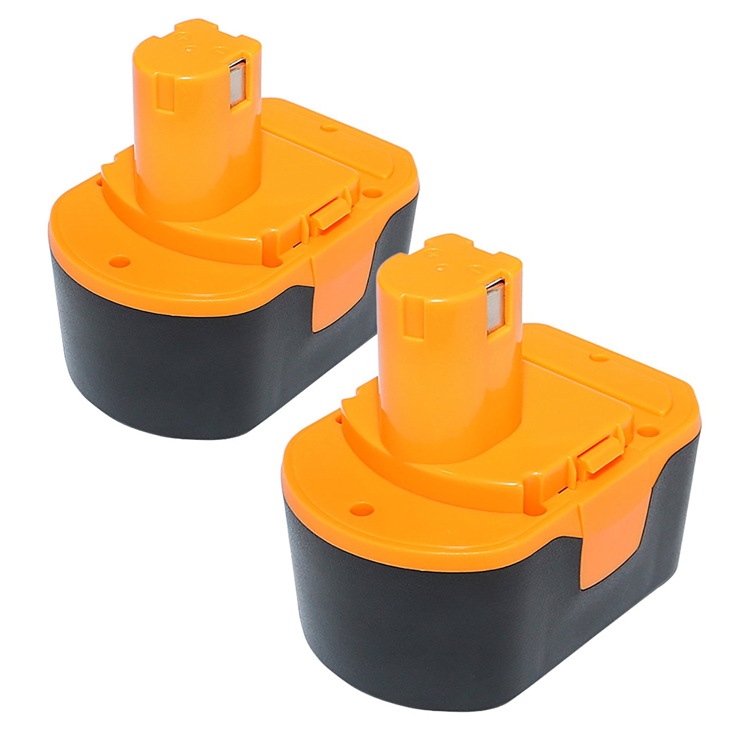efluky 2Pack 3.0Ah 14.4V Ni-Cd Replacement Power Tool Battery for Ryobi 130224010 130224011 130281002 1314702 1400144 1400655 1400656 1400671 4400011