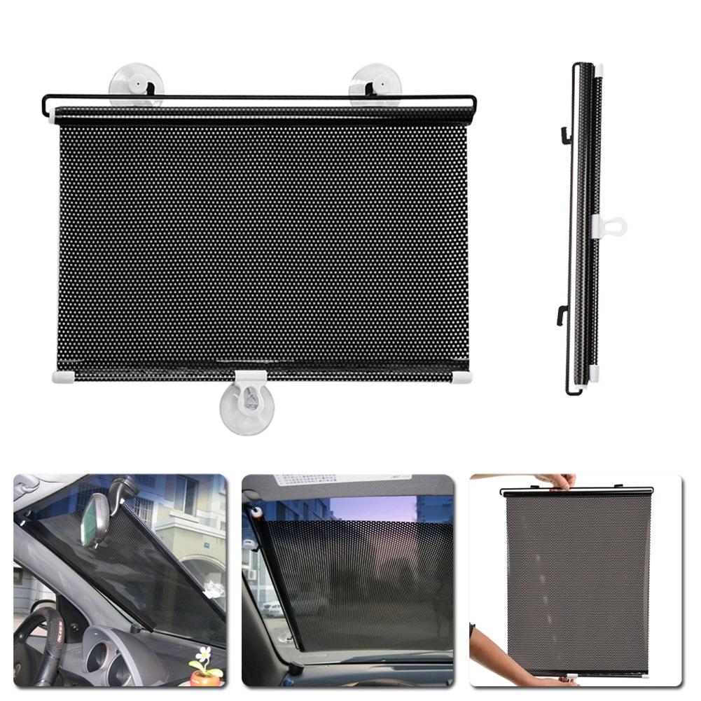 Wholesale 40cmx60cm Retractable Car Window Sun Shade Automatic Auto ... bbb17d8a4a9