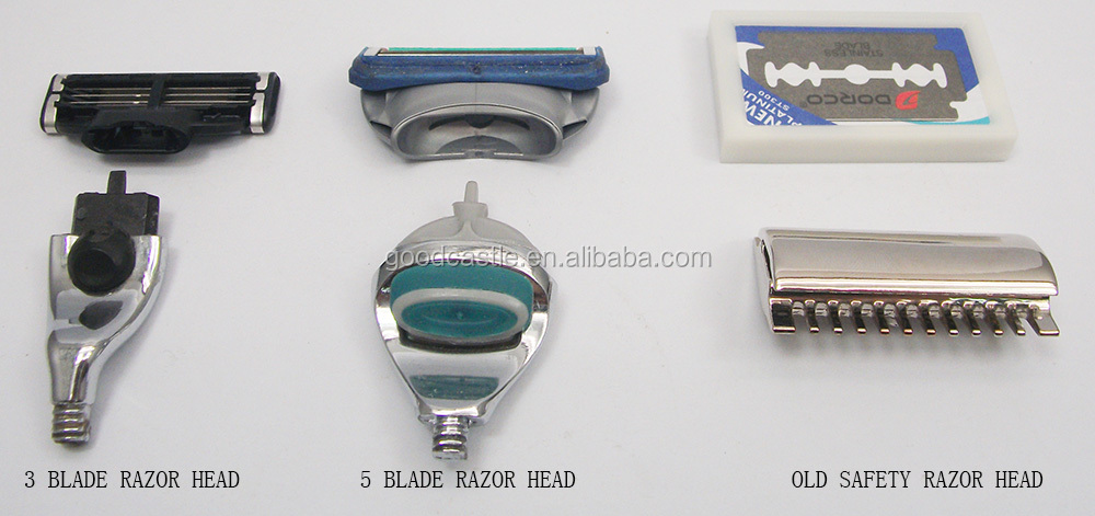 Hot sale 5 blade shaving razor set with a razor stand