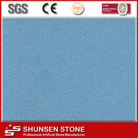 Newest Floor and Wall Stone Crystal Synthetic Quartz Stone Tile QZ856