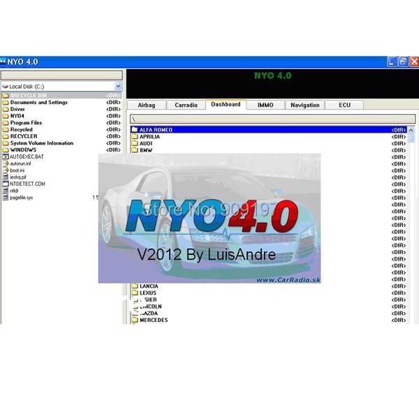Nyo 4.0 XP только 4 V4.0 полный для одометра RadioCar подушка безопасности навигатор не нуждаются в активной нет необходимости устанавливать открыть и может работать