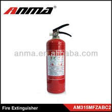 Decorative Fire Extinguisher with Raw Metal Finish