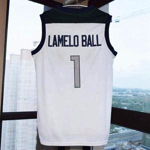 finest selection cd46a 3de9f Lonzo Ball #2 Chino Hills Huskies High School Basketball Jersey