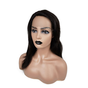 African American Female Mannequin Head with shoulders for Wig Display Wig Mannequin Head Beautiful Mannequin Wig Heads