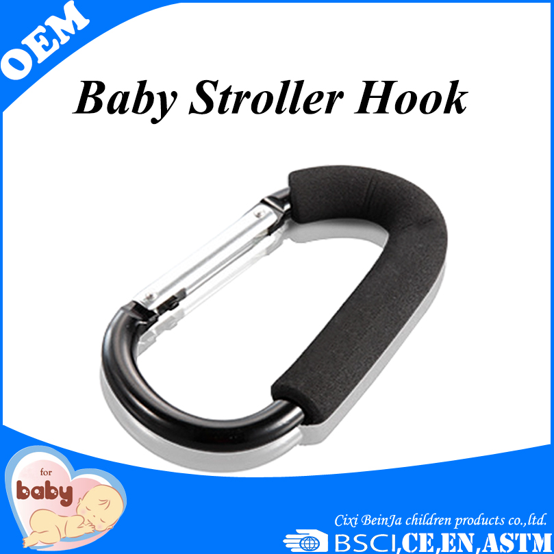 2015 New style high quality aluminium universal baby stroller hook