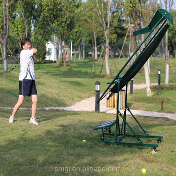 tennis pitching machine