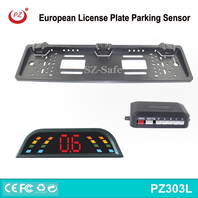 License Plate Frame Parking Sensor, License Plate Frame Parking ...