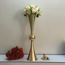 LDJ745 <span class=keywords><strong>Metall</strong></span> Rose gold <span class=keywords><strong>Vase</strong></span> mit hochzeitsmittel für party dekoration hochzeits-mittel <span class=keywords><strong>vase</strong></span>