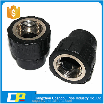 china manuaturer PE HDPE female threaded coupling