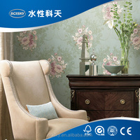 Old Fashion Roman Floral Wallpaper Classic Best Sellers of Flowers Wallpaper Vintage Paper Home Wall Decor