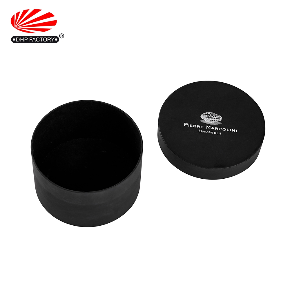 Round Rigid Gift Custom Luxury Cardboard Tealight Candle Packaging Boxes