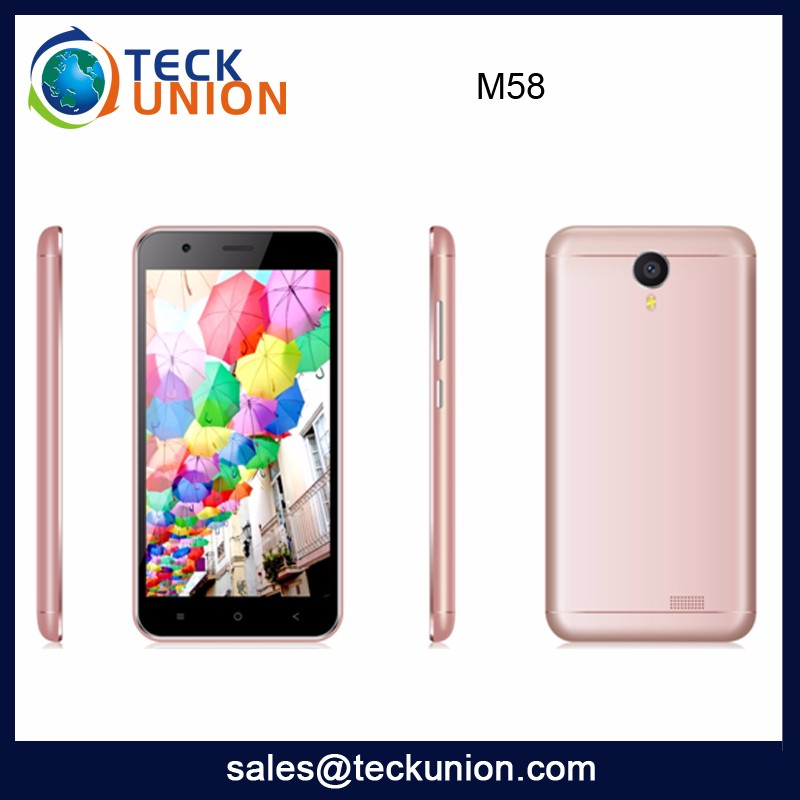 M58 New Arrive Big Touch Screen Mobile Handset Oem Android Smartphone