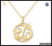 2015 Sterling Silver Monogram Initial D Necklace Fashion Jewelry Wholesale