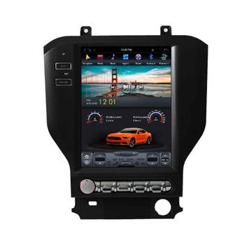 android vertical screen 2 din tesla car audio with car dvd audio for ford mustang