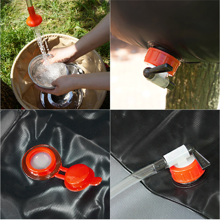 portable emergency shower  camping portable shower