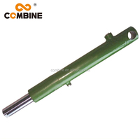 Dump Double Acting Telescopic Hydraulic Oil Cylinder For Harvester Parts