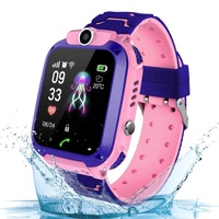Android bluetooth IP67 waterproof step counter children sos camera smartwatch kids gps smart watch