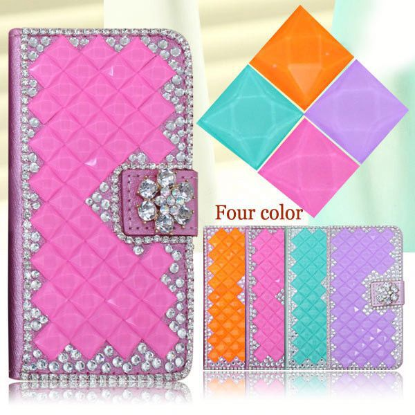 Elegant Lady Wallet Style bling bling case for Allview C6 Quad 4G Shiny cell phone covers for Allview C6 Quad 4G