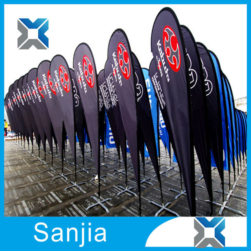 Aluminium Flagpole Material Polyester Flag Banner,Advertising Pvc Flex Banner
