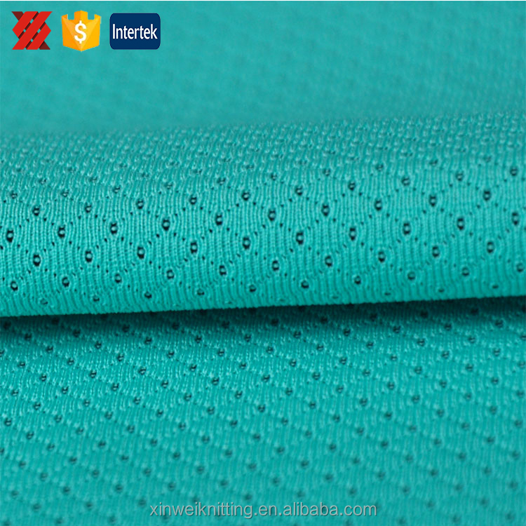 Elastic water proof polyester mesh fabric for clothing