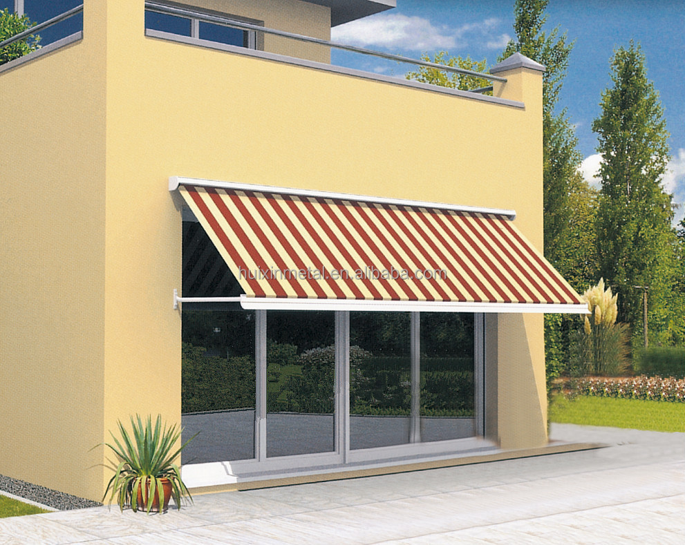 Drop Arm Manual Retractable Awning Price For Door And