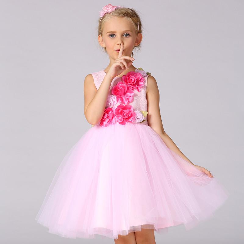 Niños frocks diseños princesa vestido niñas vestidos de fiesta con ...