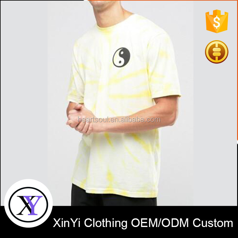 Newest style cheap fashon o neck t shirts chest prints
