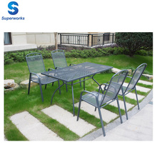 outdoor/garden metal table and chair furniture