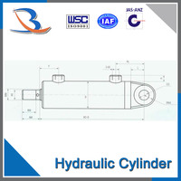 cylinder hydraulic double acting hydraulic cylinder price