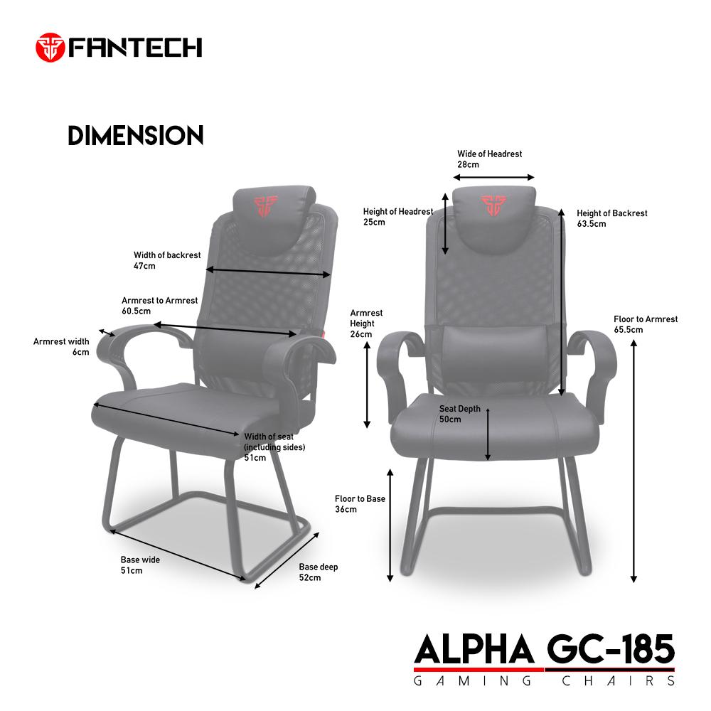 FANTECH GC-185 Alpha Gaming Chair 6