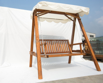 Wooden Garden Swing 2 3 Seat Chair Seat Hammock Bench Furniture Lounger 2 Seater Swing With Canopy Odf105 Buy Wooden Swing Chair Two Seater