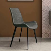 Free Sample Elegant Quality Contemporary Style leather dining room furniture Dining Chair