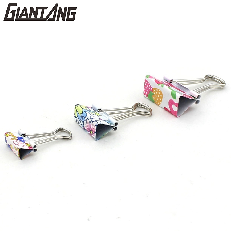 Cheap Wholesale Metal Custom Orange Binder Clip