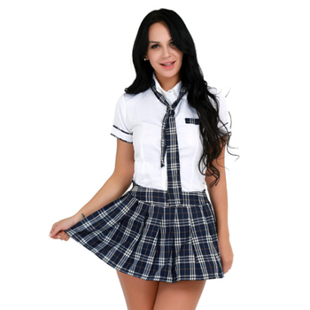 Custom wholesale korean beautiful girls high school uniforms design with pictures