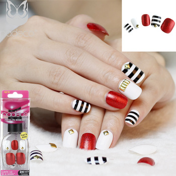Full Cover 3d Fake Nail Tips Cartoon Picture Stick On Nails Designs