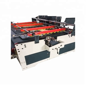 small hot melt paper board carton gluing pvc carton forming machine