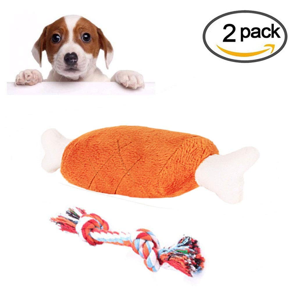 Plush Dog Toy Dog Toy Large Dog Toy Dog Bone Popular Dog Toys for Small Dogs & Puppies. Squeaky Toys Rope Toys Plush Games for Toss & Tug Play