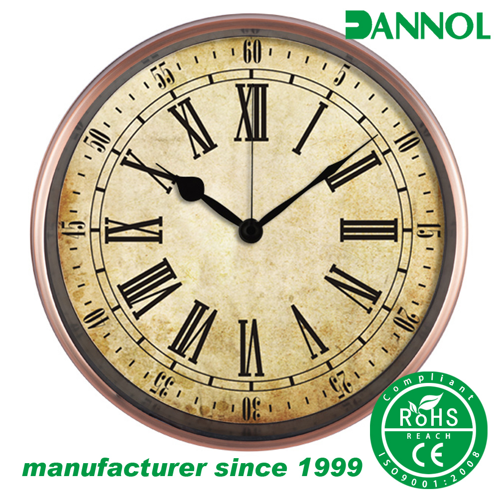 12inch german antique grandfather quartz wall mountd clocks wholesale
