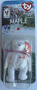 19b3fdc8d68 1 X Maple Canadian Bear - McDonald s Ty Teenie Beanie MIP - 1999 by Teenie  Beanies - 2000