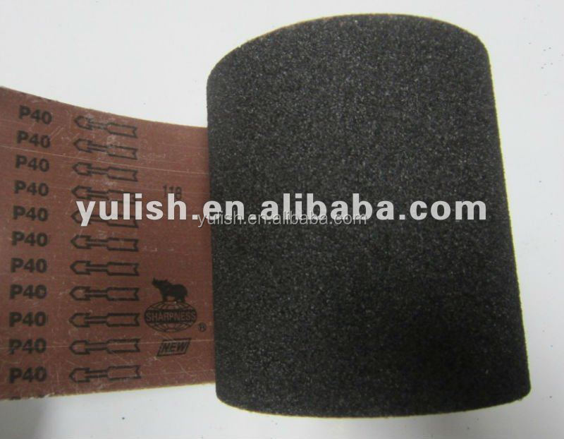 BCY71 Silicon carbide abrasive cloth jumbo roll for sanding belt