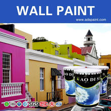 Asian wall paint primer, waterproof latex paint all paint colors
