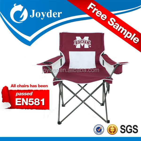 Salon de jardin réglable portable chaise pliante camping rose